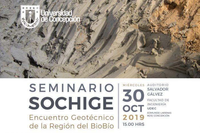 Seminario Sochige Encuentro Geotécnico de la Región del BioBío