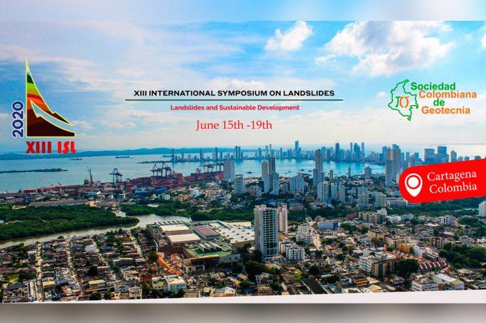 Extensión de fecha límite para envío de artículos al XIII Simposio internacional de deslizamientos