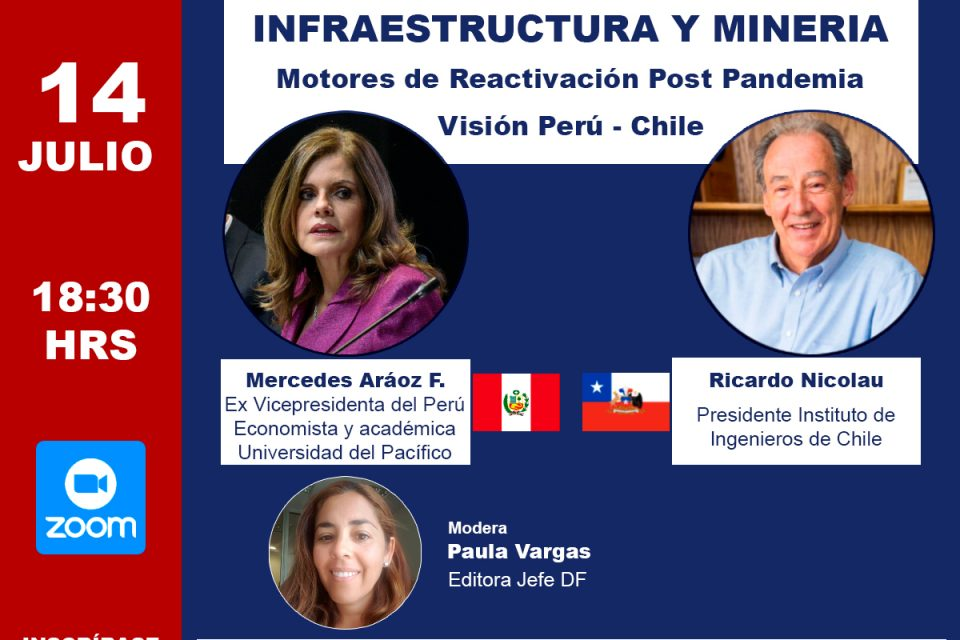 """Seminario """"INFRAESTRUCTURA Y MINERÍA. Motores de Reactivación Post Pandemia"""""""