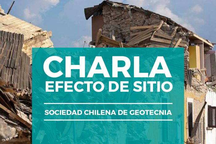 """Charla SOCHIGE: """"Efecto de Sitio"""" - 6 de Octubre 18:30 hrs."""
