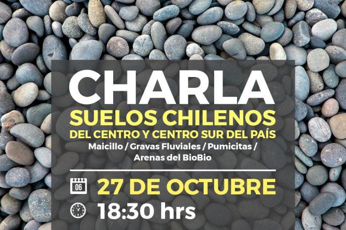 Charla Suelos chilenos del centro y centro sur del país