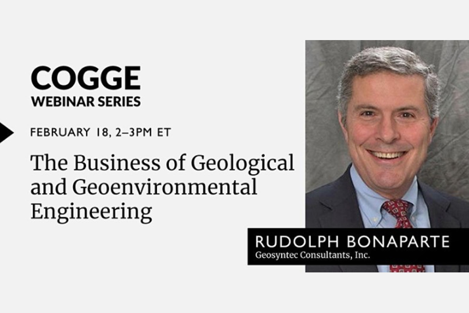 "Webinar: ""The Business of Geotechnical and Geoenvironmental Engineering"""