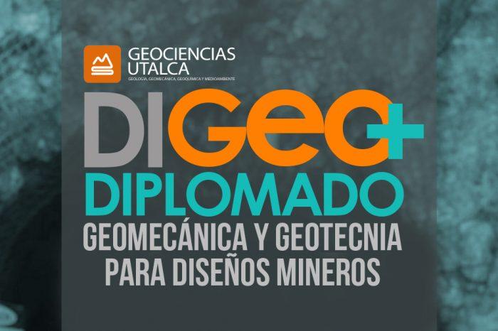 Diplomado en Geomecánica y Geotecnia para diseño mineros - DIGEO+