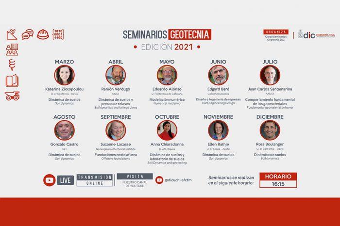 Seminarios Geotecnia Edición 2021