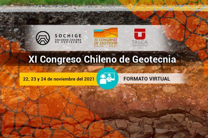 Extensión Plazo envío de Resúmenes - XI CONGRESO CHILENO DE GEOTECNIA 2021