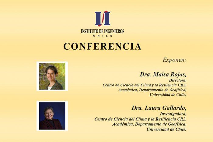 Exposición Dra. Maisa Rojas y Dra. Laura Gallardo